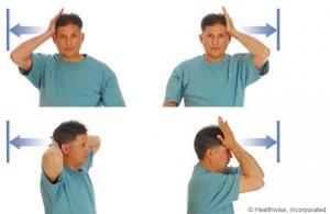 изометрические упражнения при шейном остеохондрозе