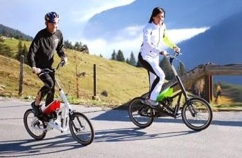 велосипед и прогулки