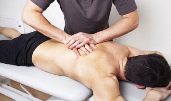 массаж точек спины