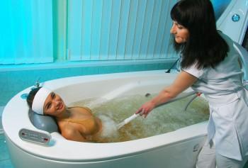 подводный массаж при остеохондрозе